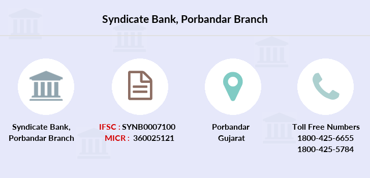 Syndicate-bank Porbandar branch