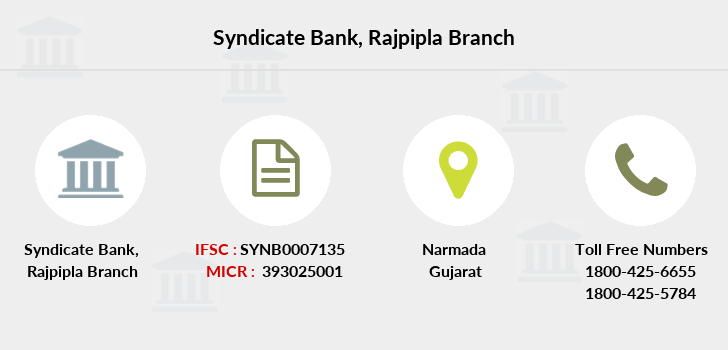 Syndicate-bank Rajpipla branch