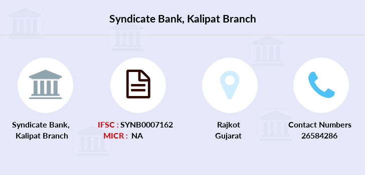 Syndicate-bank Kalipat branch