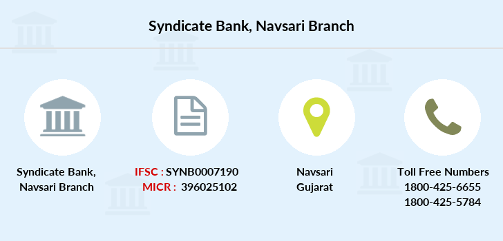 Syndicate-bank Navsari branch
