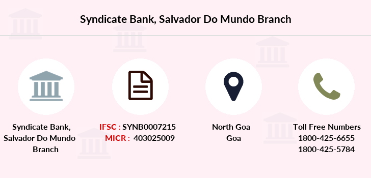 Syndicate-bank Salvador-do-mundo branch