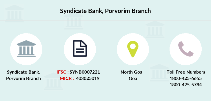 Syndicate-bank Porvorim branch