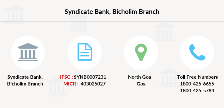 Syndicate-bank Bicholim branch