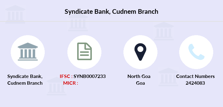 Syndicate-bank Cudnem branch