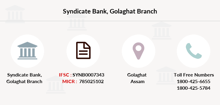 Syndicate-bank Golaghat branch