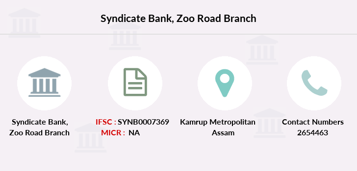 Syndicate-bank Zoo-road branch