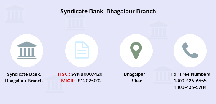 Syndicate-bank Bhagalpur branch