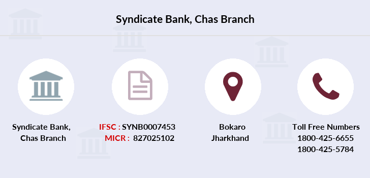 Syndicate-bank Chas branch