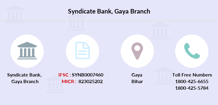 Syndicate-bank Gaya branch