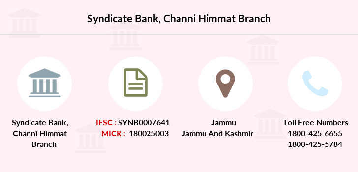 Syndicate-bank Channi-himmat branch