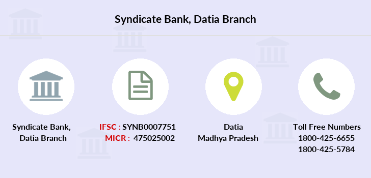 Syndicate-bank Datia branch