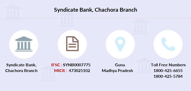 Syndicate-bank Chachora branch