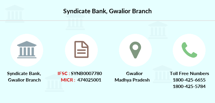 Syndicate-bank Gwalior branch