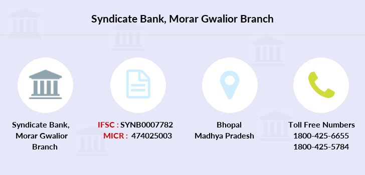 Syndicate-bank Morar-gwalior branch
