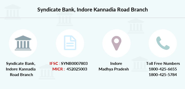 Syndicate-bank Indore-kannadia-road branch