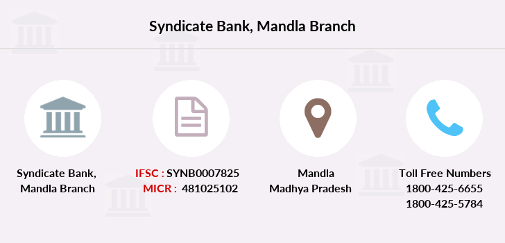 Syndicate-bank Mandla branch