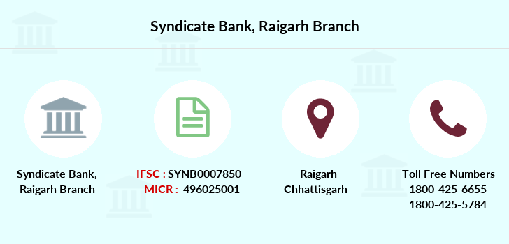 Syndicate-bank Raigarh branch