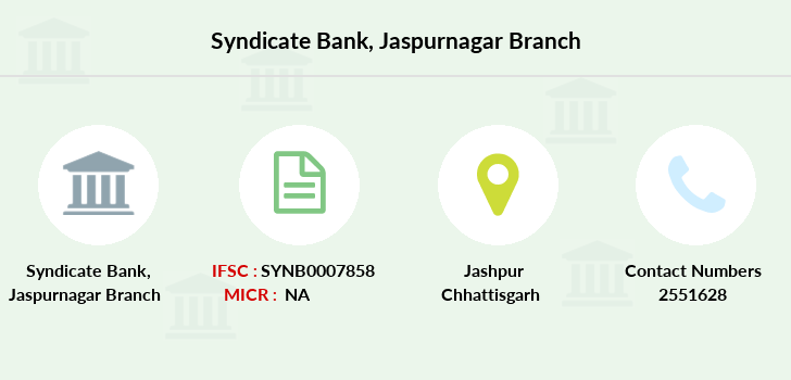 Syndicate-bank Jaspurnagar branch