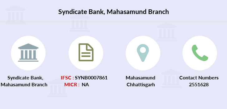 Syndicate-bank Mahasamund branch