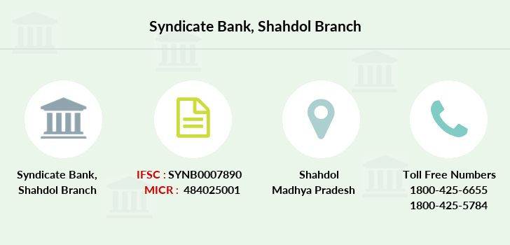 Syndicate-bank Shahdol branch