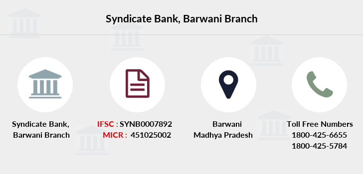 Syndicate-bank Barwani branch