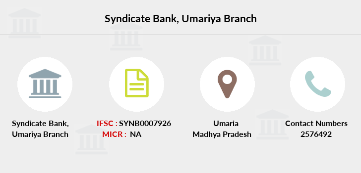 Syndicate-bank Umariya branch