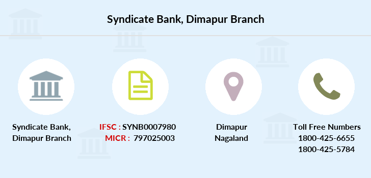 Syndicate-bank Dimapur branch