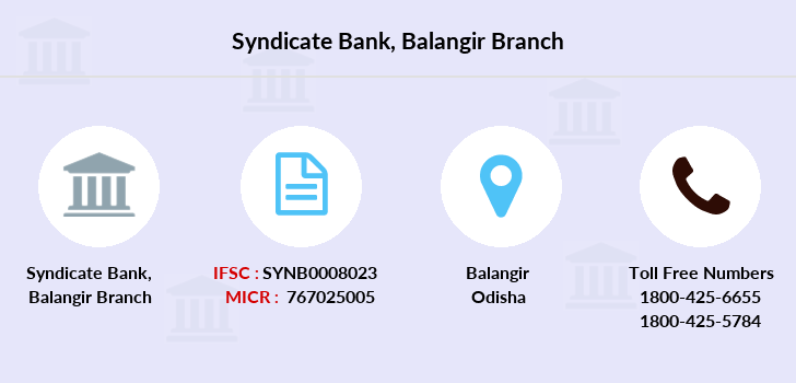 Syndicate-bank Balangir branch