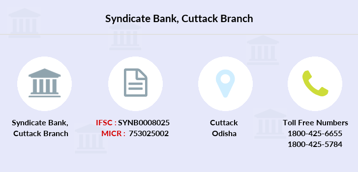 Syndicate-bank Cuttack branch