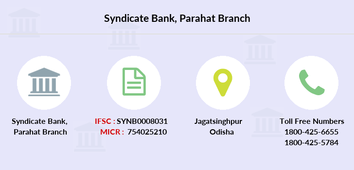 Syndicate-bank Parahat branch
