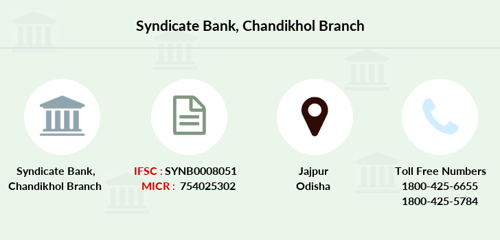 Syndicate-bank Chandikhol branch