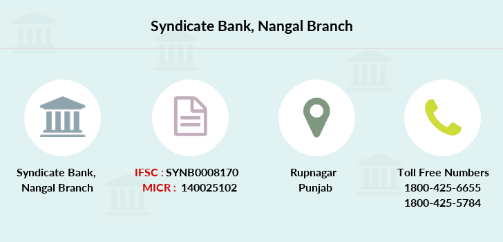 Syndicate-bank Nangal branch