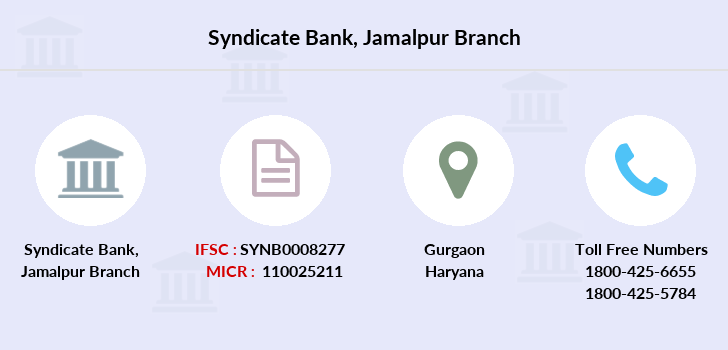 Syndicate-bank Jamalpur branch