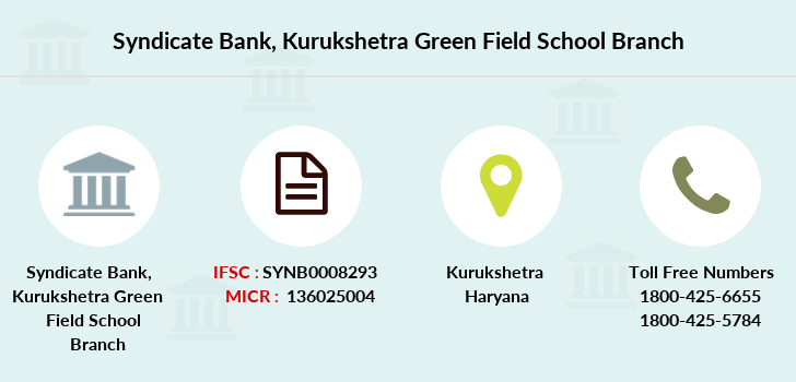 Syndicate-bank Kurukshetra-green-field-school branch