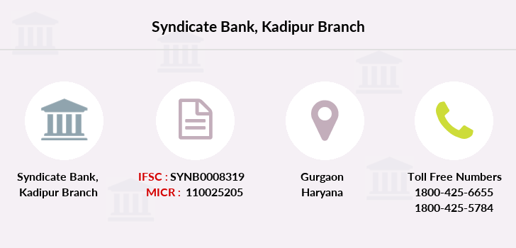 Syndicate-bank Kadipur branch