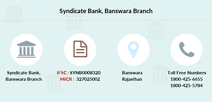 Syndicate-bank Banswara branch