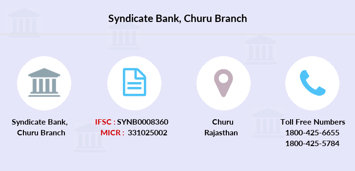 Syndicate-bank Churu branch