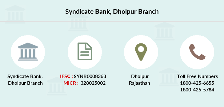 Syndicate-bank Dholpur branch