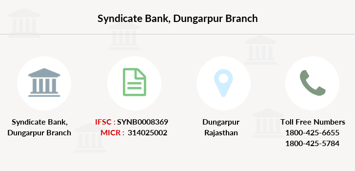 Syndicate-bank Dungarpur branch