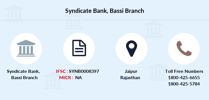 Syndicate-bank Bassi branch