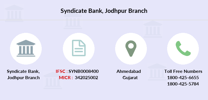 Syndicate-bank Jodhpur branch