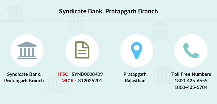 Syndicate-bank Pratapgarh branch