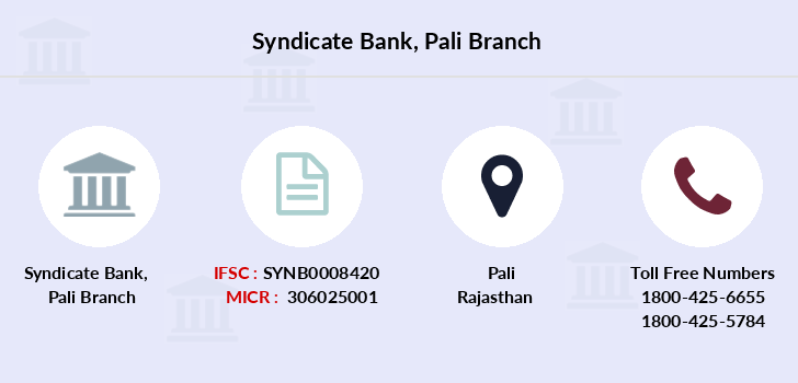 Syndicate-bank Pali branch