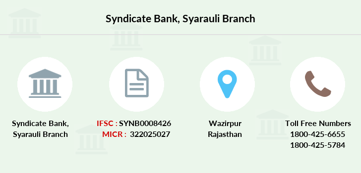 Syndicate-bank Syarauli branch