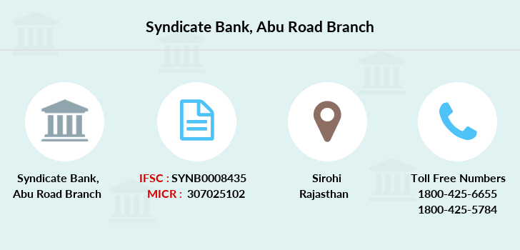 Syndicate-bank Abu-road branch