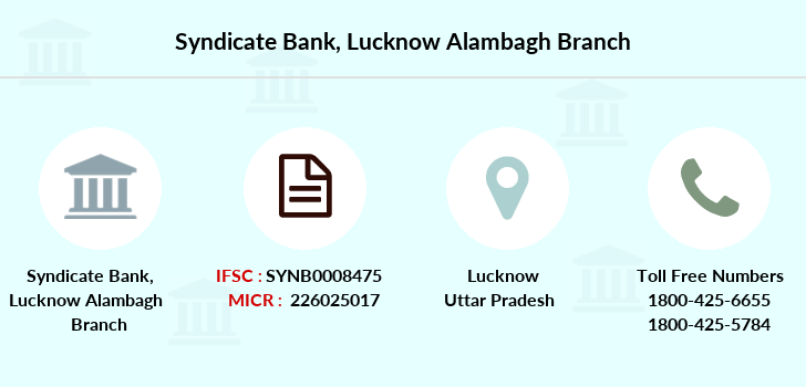 Syndicate-bank Lucknow-alambagh branch