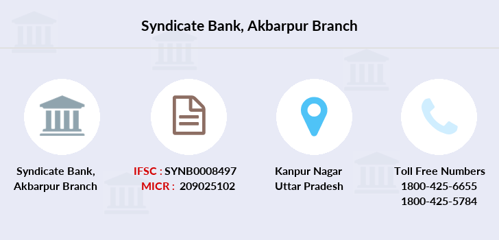 Syndicate-bank Akbarpur branch