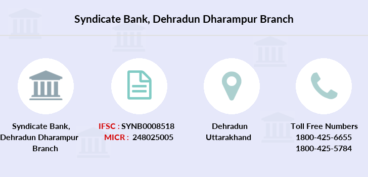 Syndicate-bank Dehradun-dharampur branch