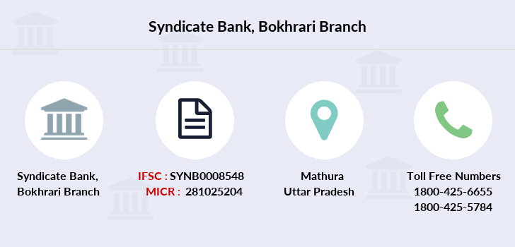 Syndicate-bank Bokhrari branch