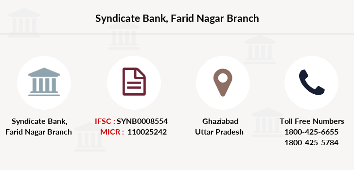 Syndicate-bank Farid-nagar branch